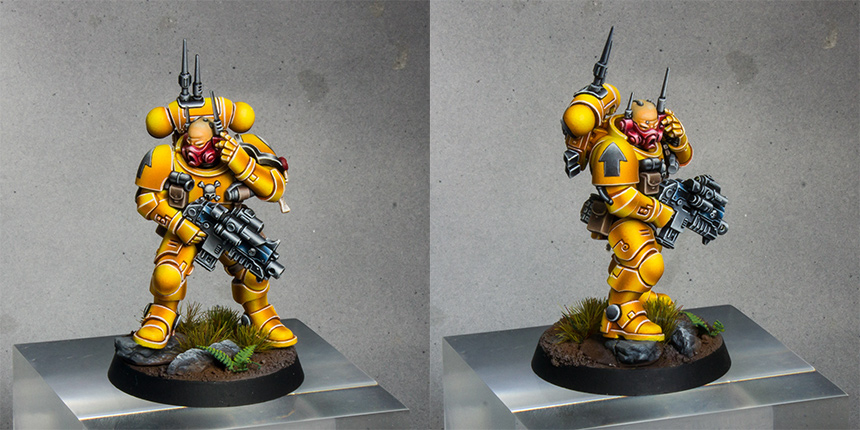 Imperial Fists Primaris Infiltrator [image 1]