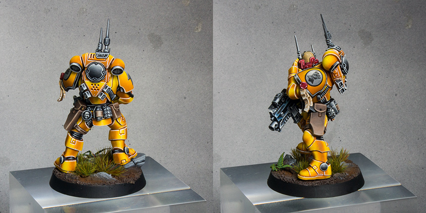 Imperial Fists Primaris Infiltrator [image 2]