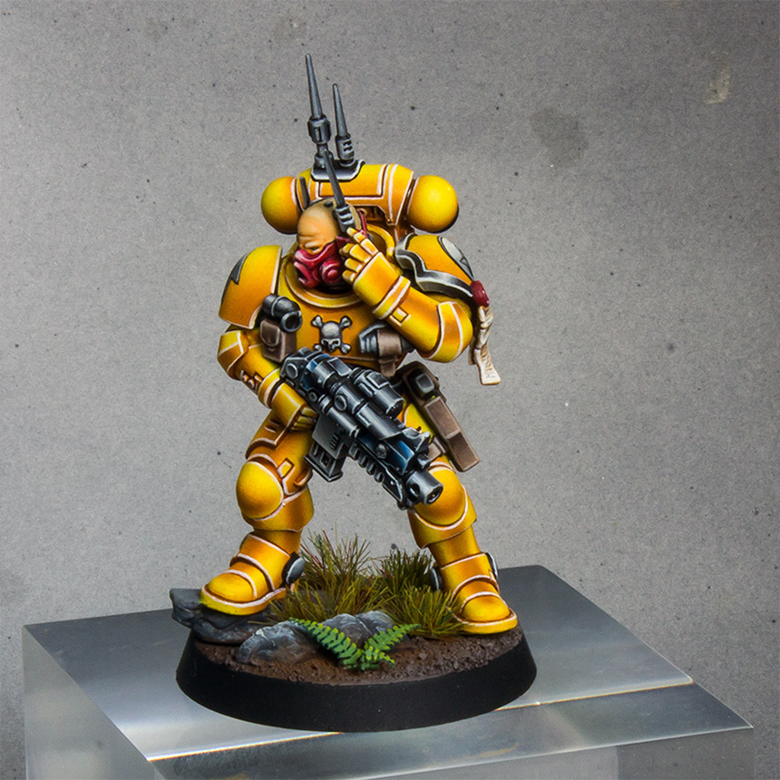Imperial Fists Primaris Infiltrator [image 3]