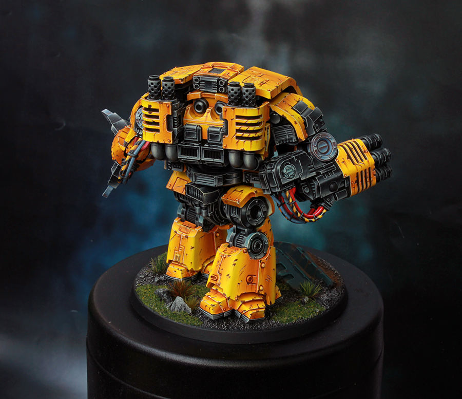 Imperial Fists Space Marine Leviathan Dreadnought [image 2]