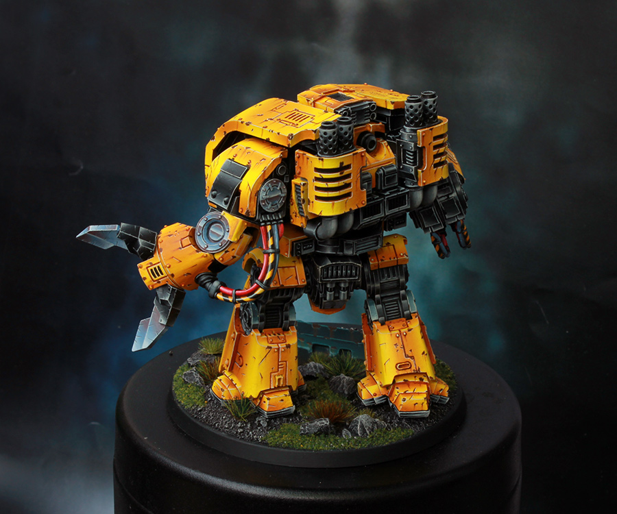 Imperial Fists Space Marine Leviathan Dreadnought [image 4]
