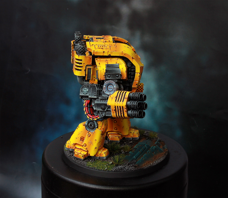 Imperial Fists Space Marine Leviathan Dreadnought [image 5]