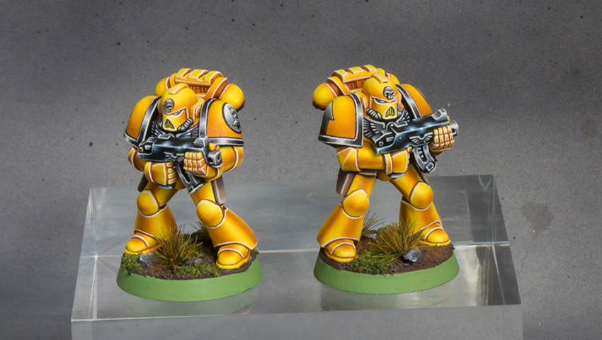 Imperial Fists Space Marine 2nd Edition [image 1]