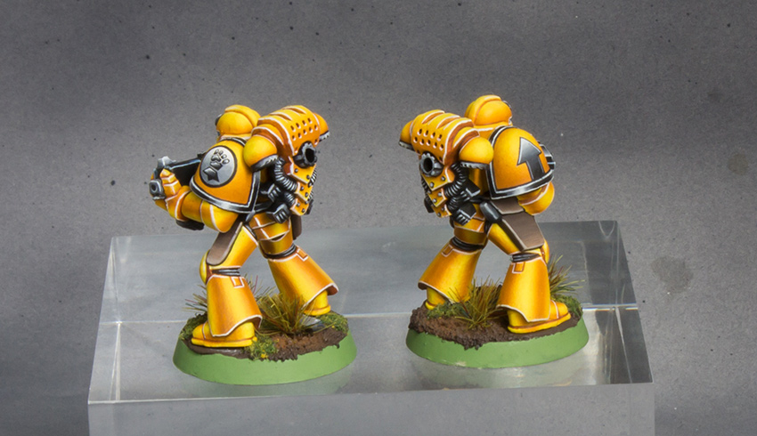 Imperial Fists Space Marine 2nd Edition [image 3]