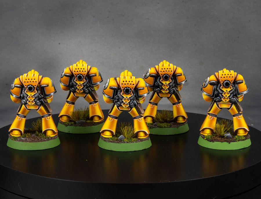 Imperial Fists 2nd Edition Space Marines [image 2]