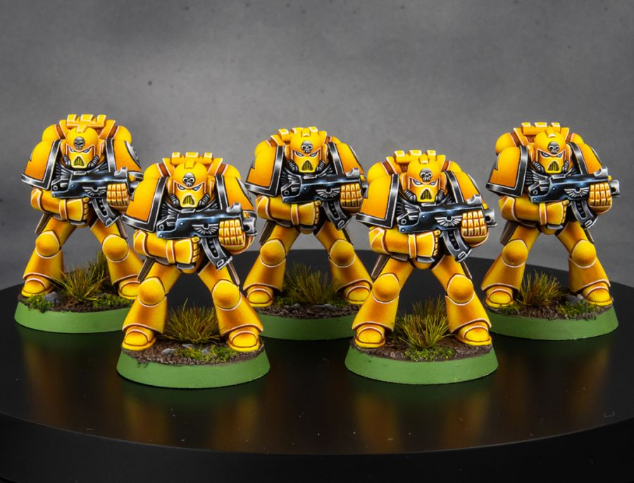 Imperial Fists 2nd Edition Space Marines [image 3]